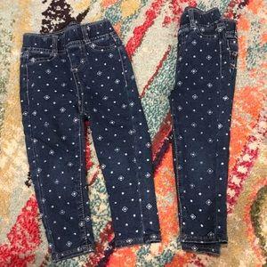 TWINS!! Levi Pull On Jean leggings